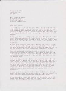 Halcrow Hobden letter 94 1