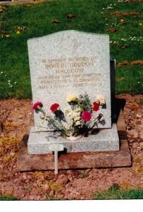 Halcrow gravestone