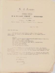 Halcrow letter 1