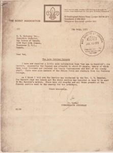 Halcrow letter 2
