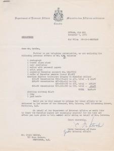 Halcrow letter 6