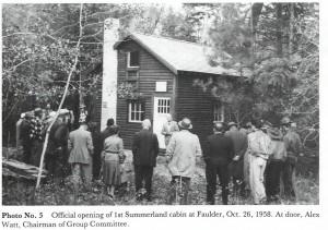 Summerland cabin